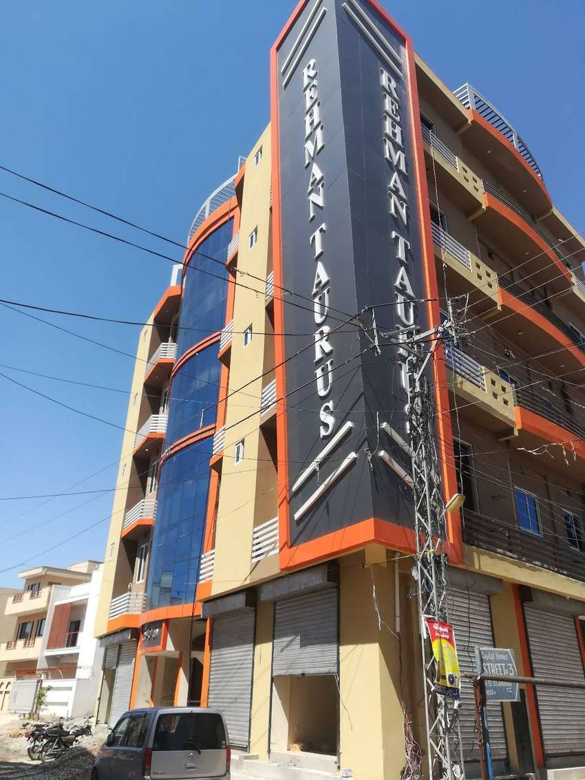 450 SQ FT new apartment in H-13 ISLAMABAD 0