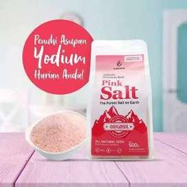 Pink salt garam himalaya kya yodium kios herbal madu kurma ajwa sukari