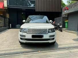 Range Rover Vogue 5.0 Autobiography White On Brown NIK 2014 Panoramic