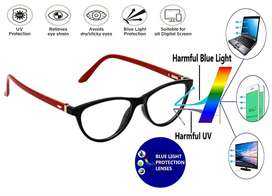 Blue Cut Eyewear Power Lenses  by Hrinkar