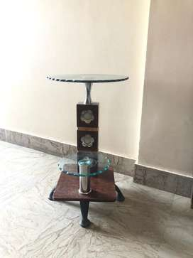 Modern design double step table