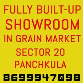 Fully builtup SCO in grain market, sector 20 pkl, prime location