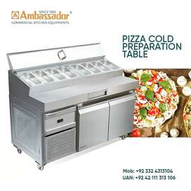 Pizza prep Cold Table chiller