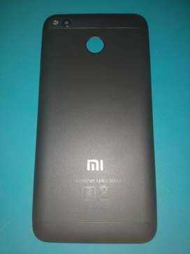 New Redmi 4 Back Panel(Black Color)
