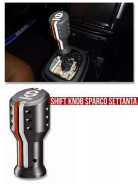 Shift knob model sparco settanta stanta black