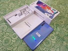 Samsung A70 6/128GB Blue, Baru Buka Kotak, Jual Lebih Hemat