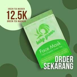 Baby Green Masker - Green Tea Masker - Beauty Masker