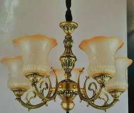 Lampu gantung antik 5 mangkok LUMINA