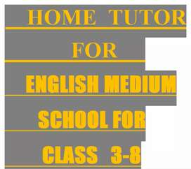 Home tutor at affordable fees.
