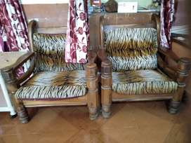 Sofa with 2 single chair