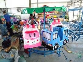 Pabrik odong odong mini coaster komedi putar safari isi 7 RAA