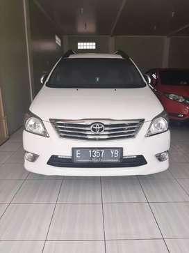 Toyota Inova Tive G manual bensin thn 2013 mbil istimewa km 50rb full