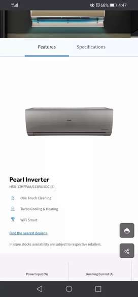 2021 modls of haier air conditioner