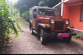 Mahindra Jeep  4 X 4 wheel drive,Diesel Well Maintained 1996 model