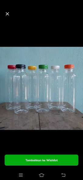 Botol Plastik Almond 250ml Shortneck