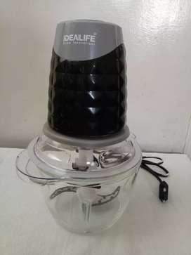Idealife Electric Chopper Penggiling Daging Cabai Merica