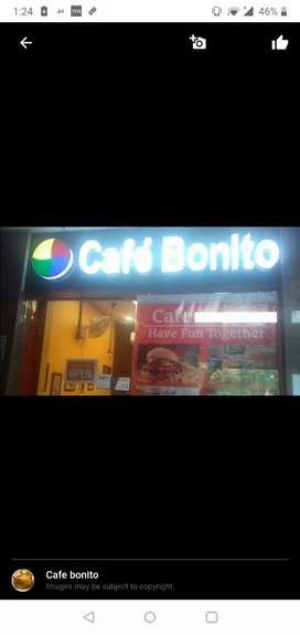 .cafe bonito at ground floor in front of lift