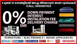 Furniture Electronics at 0%EMI Free Delivery everywhere in Trivandrum