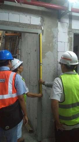 Aplikator pintu besi/Steel Fire door