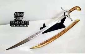 Samurai alyubi arab pedang antik tajam