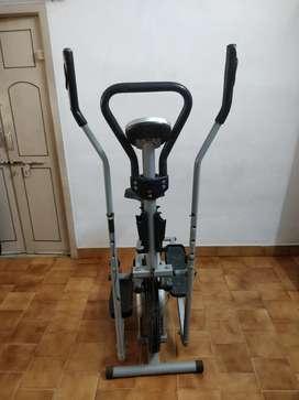 Cross trainer cum exercise Bike