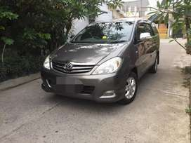 Toyota Innova 2.0 G Manual 2010 Abu2 Metalik