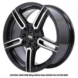 harga velg hsr wheel - sayosa hsr ukuran ring 15 march vios sirion dll