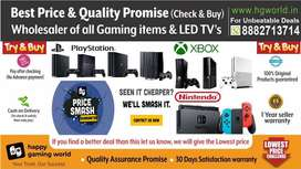 PS4,ps3,ps2,XBOX1/X/S/360,Switch,Vr All Gaming items&LED TVs Wholesale