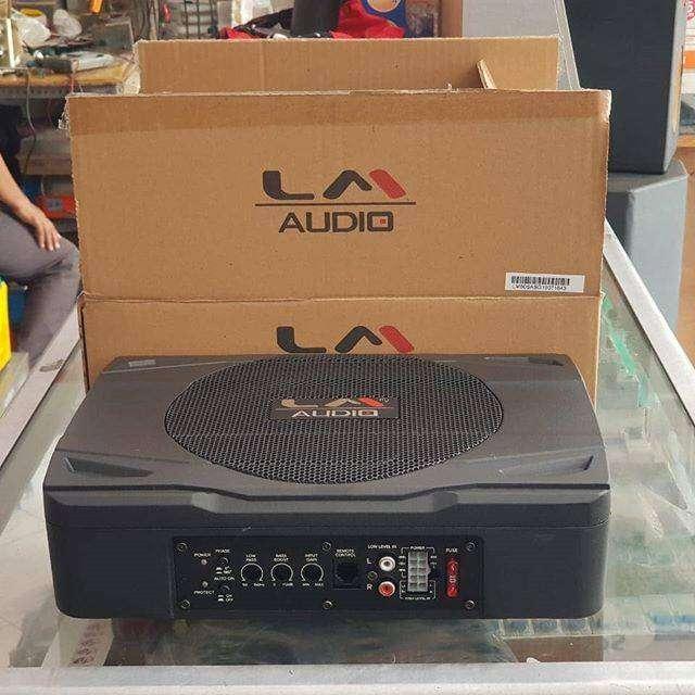 Subwoofer Kolong + Speaker Split LM Audio | FAJAR MOBIL | 0