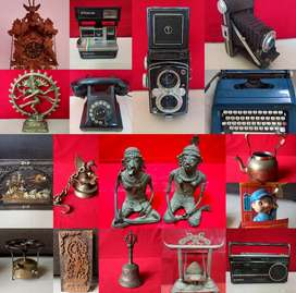 Antiques sale - Sell old Items - Buy Antique - Decor - Brass - Vintage