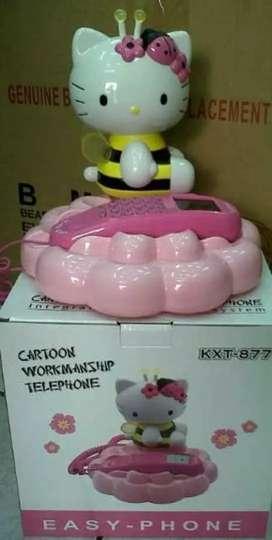 Telepon Rumah Hello Kitty