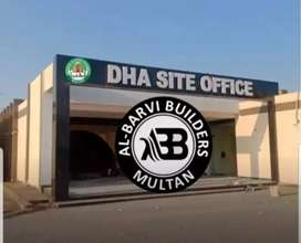DHA MULTAN (AL BARVI BUILDERS)1 KANAL PLOT FOR SALE IN SECTOR O