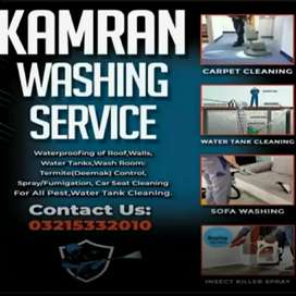 Sofa washing and Carpet cleaning