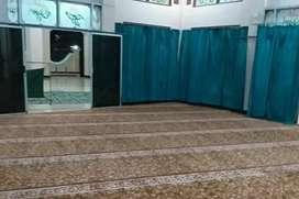Sedia karpet masjid motif klasik pasang Demak