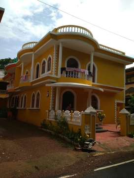 3BHK home for rent , Nuvem Margao , rent