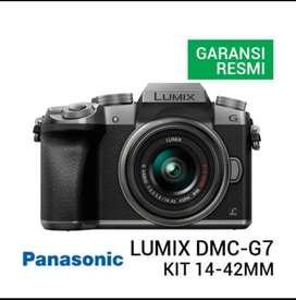 Panasonic Lumix DMC- G7 kit 14-42MM bisa cicilan culup KTP SIM