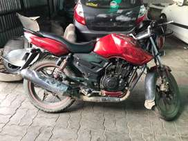 Apache RTR 160 , front disc break rear drum maintained