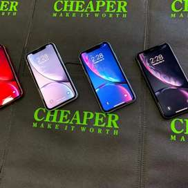 Refurbished I phone xr new edition 4gb ram box pack all colour availab