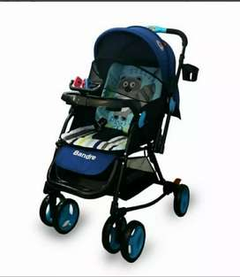 Stroller baby does 2 in1 BANDRE ( dorong depan, ayun)