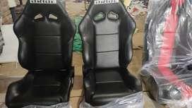 Car sport seats pair