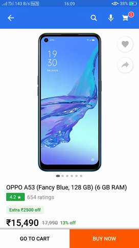 Oppo a53 6/128 seal pack