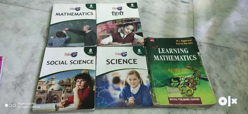 Class 8 ncert books and reference book 0