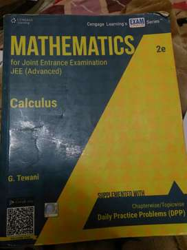 MATHEMATICS FOR JOINT ENTRANCE EXAMINATION JEE (ADVANCED)
