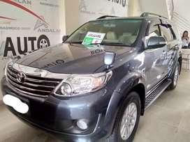 Toyota Fortuner 2.7 V 2013 AT Dp 30 Jt