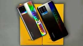 Realme 8 8/128 New Segel Free Kuota 31,5GB 040