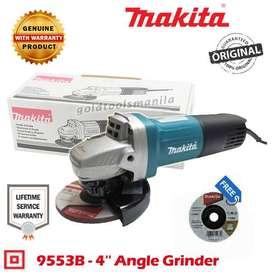 Mesin MAKITA 9553 B Gerinda 4 Inch Gurinda Tangan Angle Grinder 9553B