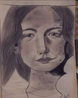 pencil made sketch..Made by me..