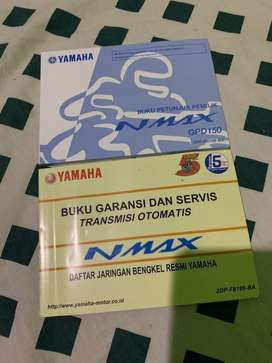 Manual dan service book yamaha nmax