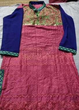 Long cotton kurti for sale