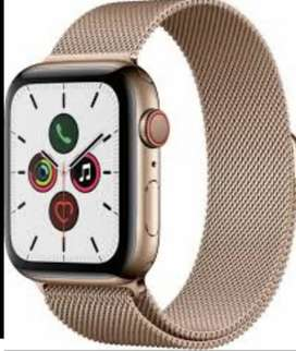 Apple Series 5 44mm Gold stainless steel cellular